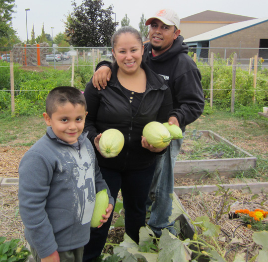Farm and Garden Program clients. Courtesy of Marion-Polk Food Share. Used with permission.