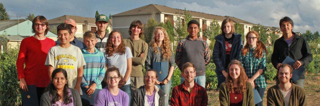 Marion-Polk Food Share Youth Farm participants, 2016