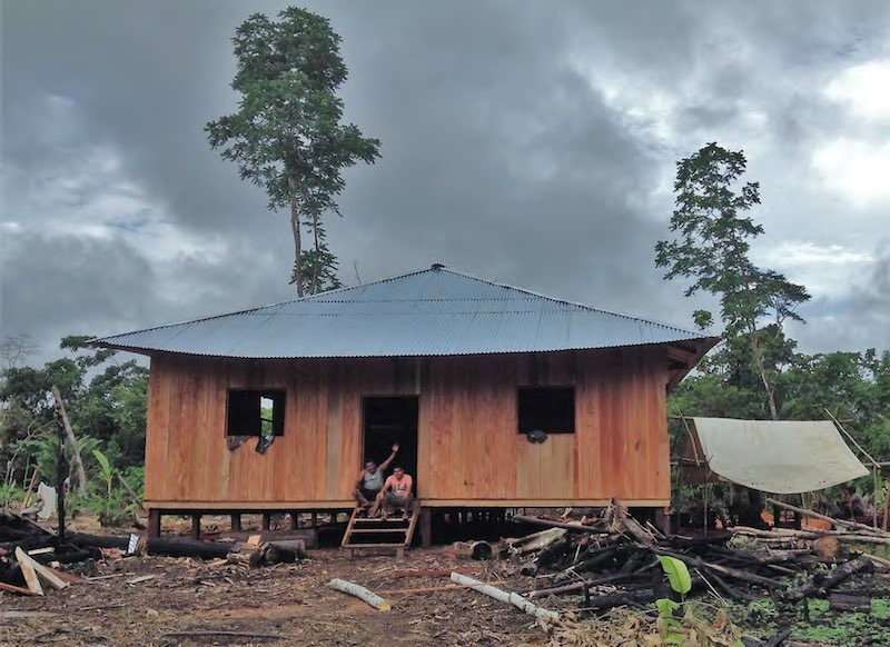 Construction of the Traditional Medicinal Center as of August 2017.